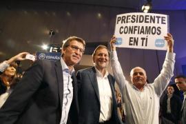 Rajoy dice que se encuentra  «bien» y agradece las muestras de solidaridad