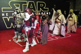 Estreno mundial de la última entrega de «Star Wars»