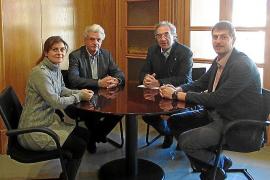 Un conflicto económico entre el Ibavi y el Ajuntament de Campos encalla la nueva escuela