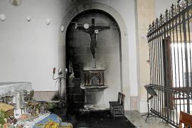Un ladrón causa daños importantes en el convento de las monjas de clausura de Sineu