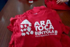 La comunidad educativa de Bunyola se moviliza por una escuela nueva