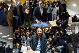El PP gana a la baja, el PSOE flojea y Podemos irrumpe con fuerza