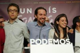 Iglesias, pletórico por los resultados: «España ha votado un cambio de sistema»