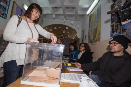 Francina Armengol: «En Balears se ha votado en clave estatal»