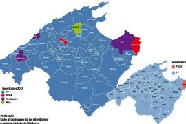 Los 'populares' pierden fuerza en los municipios y emerge Podemos