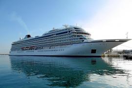 El 'Viking Star', declarado mejor crucero de 2015, hace su primera escala en Palma
