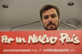 Garzón no ve motivo para asumir responsabilidades por el fracaso de IU