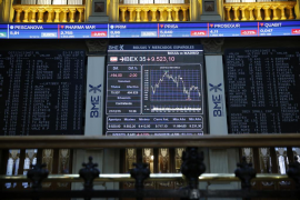 El Ibex 35 cae un 3,62 % por la incertidumbre política