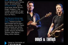 Cartel del concierto de Tolo Servera y Norbert Fimpel