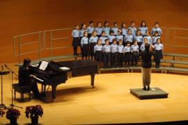 Los coros del Teatre Principal ofrecen su concierto de Navidad