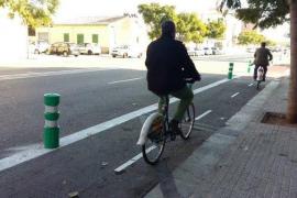 Inaugurado un nuevo tramo de carril bici que une Son Oliva con la carretera de Valldemossa