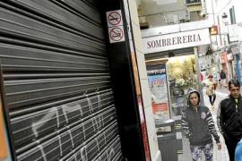La inversión en los locales comerciales de Balears ha caído un 40 % en seis años