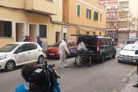Una mujer de 45 años aparece muerta a golpes y estrangulada en su piso del barrio de Es Fortí