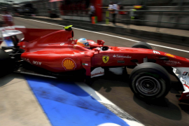 Fernando Alonso (Ferrari):  «Los Red Bull han estado intratables»
