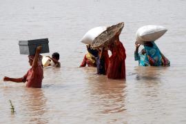 800 muertos por inundaciones en Pakistán en los últimos cuatro días