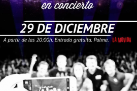Los mallorquines 'DHI' en concierto en La Movida