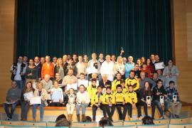 Santanyí homenajea a sus deportistas en la IV Gala del Deporte