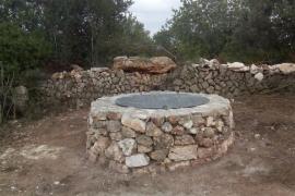 El Ajuntament de Sineu acondiciona el pozo del camino de Sa Casa Baixa