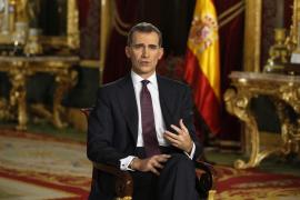 Felipe VI apela al sentido del deber, la responsabilidad y la voluntad de entendimiento de los partidos