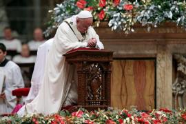 El papa, «ante una cultura de la indiferencia» pide «piedad y empatía y misericordia»