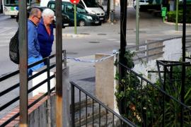 Detenido un hombre por agredir  a otro con una botella rota cerca de la Plaça Gomila