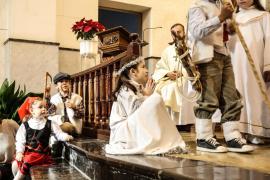 Un belén viviente en Sant Josep