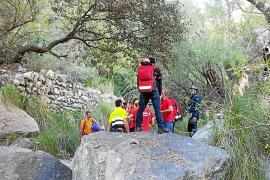 Rescatan a una escaladora de 25 años tras sufrir una caída en sa Gubia