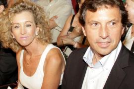 Mateu Isern y su esposa, de alta tras su accidente