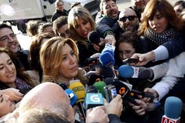 Armengol defiende aplazar el congreso del PSOE y Susana Díaz no