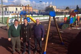 Santanyí invierte 74.000 euros en la mejora de parques infantiles
