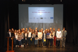 Los IV Ajuts Universitaris entrega 21 ayudas a estudiantes de Capdepera