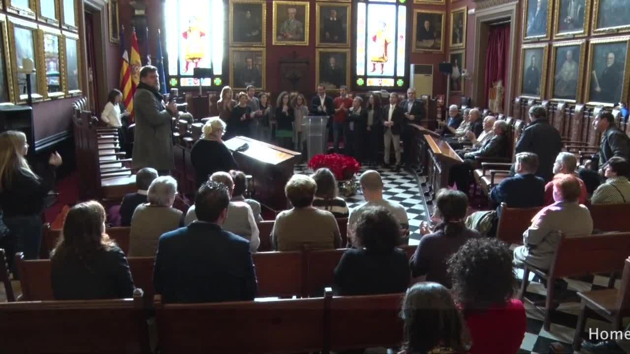 Cort homenajea a los funcionarios que se han jubilado este año