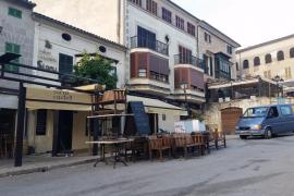 Denuncian ante la Guardia Civil los destrozos causados por los quintos de Sineu
