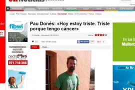 Pau Donés: «Estoy triste. Triste porque tengo cáncer»