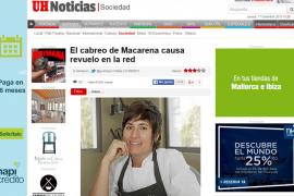 El cabreo de Macarena de Castro