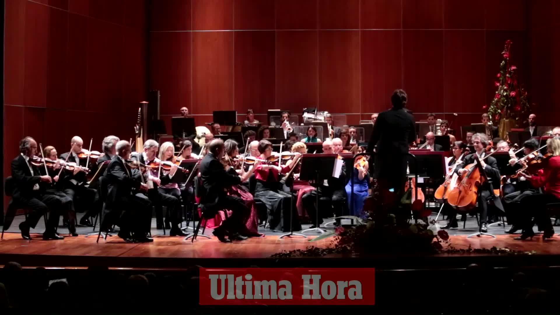 La Simfònica llena el Principal con obras de Strauss y clásicos de zarzuela