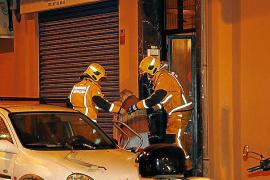 Arde un piso en la plaza Serralta