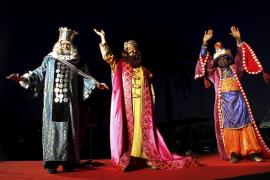 Los Reyes Magos llegarán este martes a Palma con más de 5.000 kilos de caramelos
