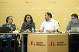 EJECUTIVA DE ERC SE REÚNE TRAS EL RECHAZO DE LA CUP A INVESTIR A ARTUR MAS