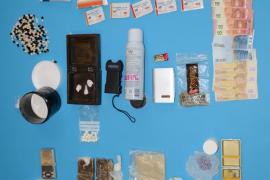 La Policía Nacional desmantela un grupo criminal dedicado a la venta de drogas de síntesis