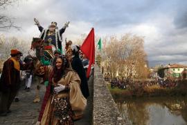 El primer temporal del invierno dificulta  la llegada de los Reyes Magos a España