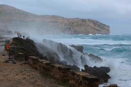 Balears estará en riesgo por fenómenos costeros el Día de Reyes