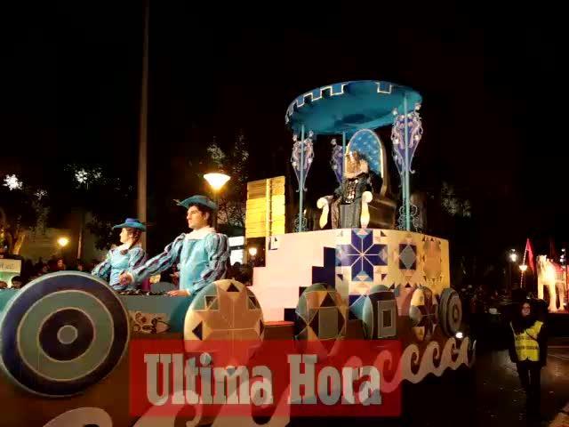 Lluvia de Reyes en Mallorca