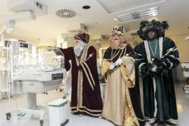 Los Reyes reparten alegría en Can Misses