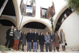 Hila y Armengol revisan la rehabilitación del Casal Balaguer