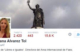 Cayetana Álvarez contraataca calificando Twitter de «vertedero» y «tumba de la inteligencia»