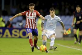 El Atlético se aferra al liderato a costa del Celta