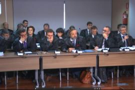Abogados de los acusados en el juicio del caso Nóos