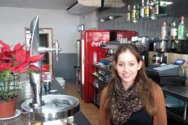 Silvia, camarera del Restaurante Son Rossinyol.