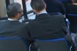Urdangarin y Torres hablan durante el juicio tras diez años sin relación
